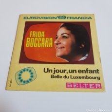 Discos de vinil: FRIDA BOCCARA - EUROVISIÓN 69 FRANCIA. Lote 198646793