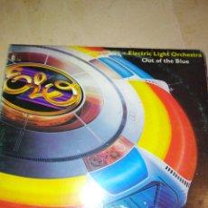 Dischi in vinile: ELECTRIC LIGHT ORCHESTRA-OUT OF THE BLUE-DOBLE LP-ORIGINAL ESPAÑOL 1977-CONTIENEN LOS ENCARTE. Lote 198652122