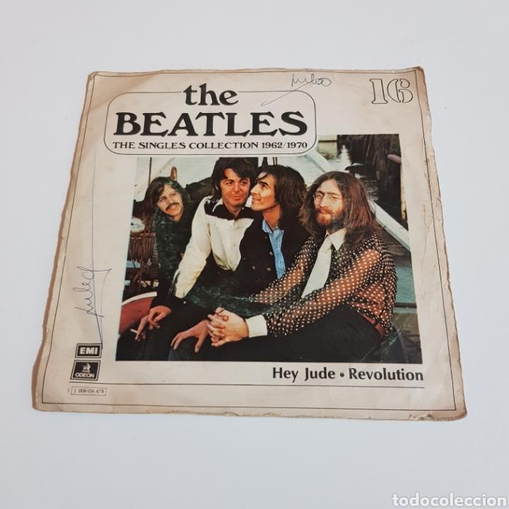 THE BEATLES - THE SINGLES COLLECTION 1962 / 1970 - HEY JUDE . REVOLUTION - ODEON BARCELONA (Música - Discos - Singles Vinilo - Pop - Rock - Extranjero de los 70)