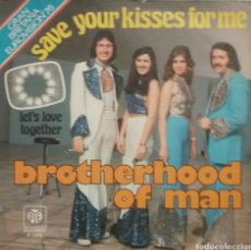Discos de vinilo: BROTHERHOOD OF MAN. EUROVISIÓN. SINGLE. SELLO PYE RECORDS. EDITADO EN ESPAÑA. AÑO 1976. Lote 198660262