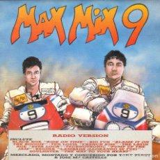 Discos de vinilo: MAX MIX 9 - RADIO VERSION + JINGLES AND EFECTOS SINGLE PROMO SPAIN 1989. Lote 198665053