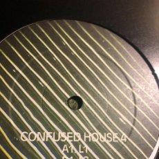 Discos de vinilo: ESCAPE FORCE – L1 / L2 / L3 CONFUSED HOUSE. Lote 198668200