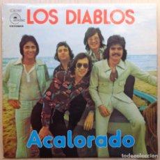 Discos de vinilo: LOS DIABLOS 'ACALORADO'. Lote 198672753