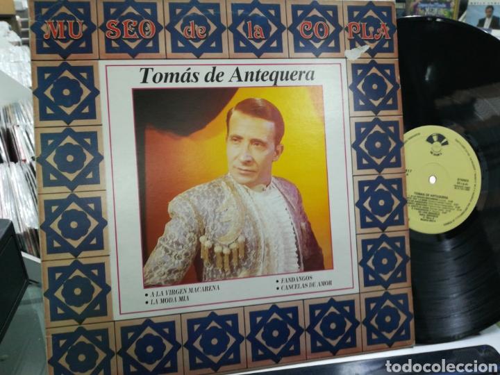 TOMÁS DE ANTEQUERA LP MUSEO DE LA COPLA 1989 (Música - Discos - LP Vinilo - Flamenco, Canción española y Cuplé)