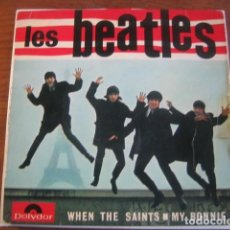 Disques de vinyle: THE BEATLES - WHEN THE SAINTS .... + 3 ******* RARO EP FRANCÉS POLYDOR. Lote 198683447