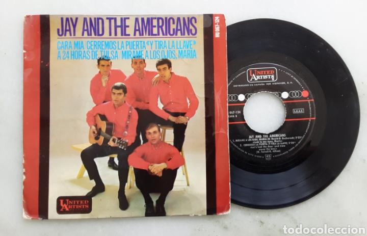 JAY AND THE AMERICANS CARA MIA+3 (Música - Discos de Vinilo - EPs - Pop - Rock Internacional de los 50 y 60)