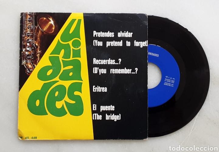 UNIDADES EP PRETENDES OLVIDAR +3 AÑOS 60 (Música - Discos de Vinilo - EPs - Grupos Españoles 50 y 60)