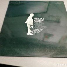Discos de vinilo: HOMENAJE A CHARLIE CHAPLIN / STANLEY BLACK / DECCA 1977. Lote 198688822