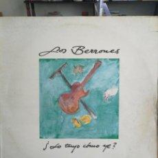 Discos de vinilo: LOS BERRONES, ( LO TUYO COMO YE),LP 1992. Lote 198692565