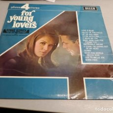Discos de vinilo: FOR YOUNG LOVERS / RONNIE ALDRICH AND HIS TWO PIANOS / DECCA. Lote 198692865