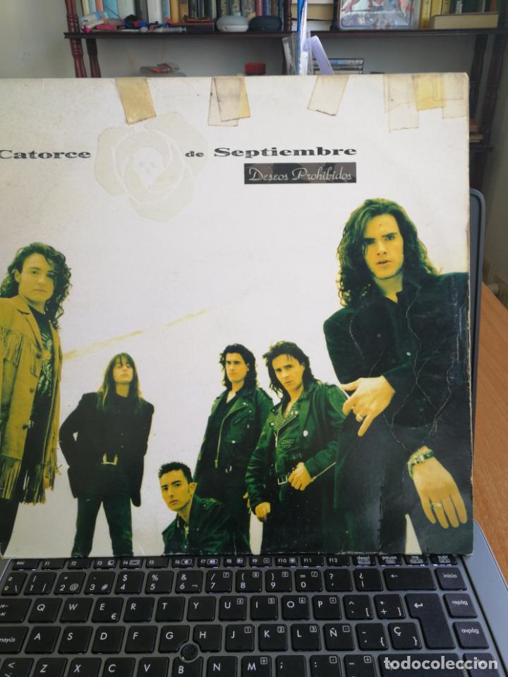 CATORCE DE SEPTIEMBRE - DESEOS PROHIBIDOS - LP (Música - Discos - LP Vinilo - Grupos Españoles de los 90 a la actualidad)