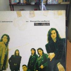 Discos de vinilo: CATORCE DE SEPTIEMBRE - DESEOS PROHIBIDOS - LP. Lote 198693206