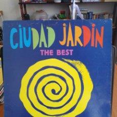 Discos de vinilo: CIUDAD JARDIN - THE BEST [LP 1992 ]. Lote 198706966