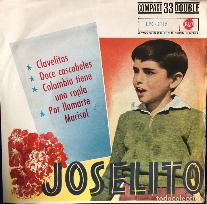 JOSELITO EP 45 RPM DOCE CASCABELES (Música - Discos de Vinilo - EPs - Flamenco, Canción española y Cuplé)