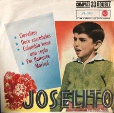 Discos de vinilo: JOSELITO EP 45 RPM DOCE CASCABELES. Lote 198716911