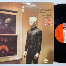 Discos de vinilo: LP TUBEWAY ARMY REPLICAS EDICIÓN ESPAÑOLA DE 1979. Lote 198721212