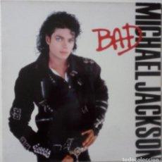 Discos de vinilo: MICHAEL JACKSON ...BAD.(EPIC 1987) SPAIN. Lote 198722562