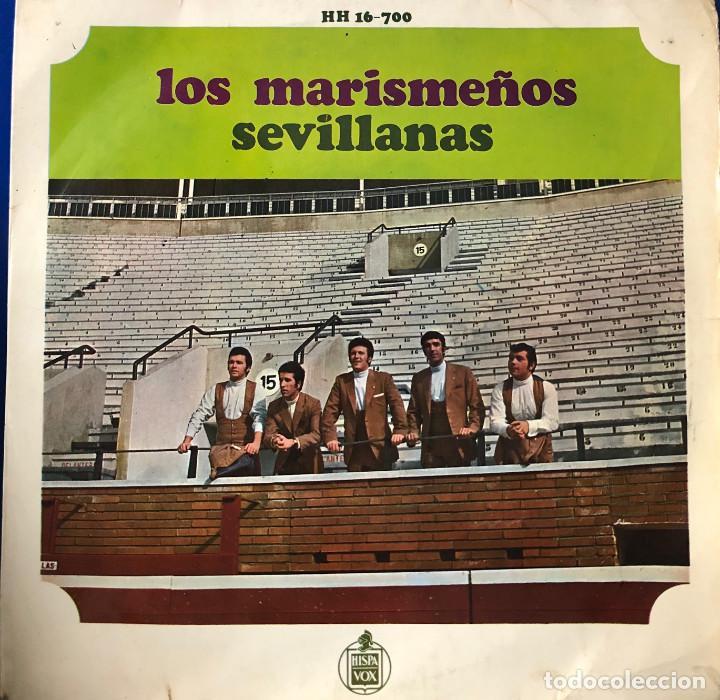 LOS MARISMEÑOS, EP - SEVILLANAS - (Música - Discos de Vinilo - EPs - Flamenco, Canción española y Cuplé)