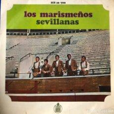 Discos de vinilo: LOS MARISMEÑOS, EP - SEVILLANAS -. Lote 198727381
