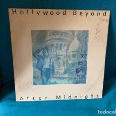 Discos de vinilo: HOLLYWOOD BEYOND – AFTER MIDNIGHT. DISCO VINILO MAXI SINGLE. ESTADO VG+ / VG. Lote 198727640