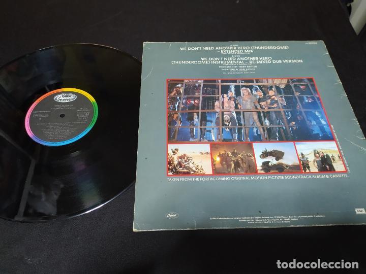 Discos de vinilo: maxi tina turner mad max y la cupula del trueno buen estado - Foto 2 - 198733532