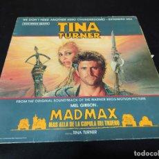 Discos de vinilo: MAXI TINA TURNER MAD MAX Y LA CUPULA DEL TRUENO BUEN ESTADO. Lote 198733532