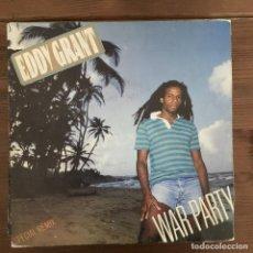 Discos de vinilo: EDDY GRANT - WAR PARTY - SINGLE ICE SPAIN 1982. Lote 198734242