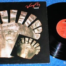 Discos de vinilo: VANGELIS SPAIN LP 1989 MASK RE EDITION ELECTRONIC SYNTH POP MODERN AMBIENT BUEN ESTADO MIRA !!. Lote 198739021