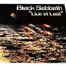 Discos de vinilo: V671 - BLACK SABBATH. LIVE AT LAST. LP VINILO. Lote 198741775