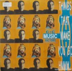 Discos de vinilo: C & C MUSIC FACTORY - THINGS THAT MAKE YOU GO HMMM.... Lote 198743332