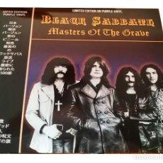 Discos de vinilo: V672 - BLACK SABBATH. MASTERS OF THE GRAVE. LP VINILO NUEVO PRECINTADO. Lote 198743975