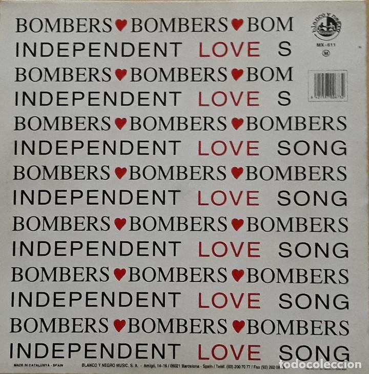 Discos de vinilo: BOMBERS - INDEPENDENT LOVE - Foto 2 - 198745641