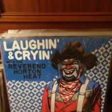 Discos de vinilo: REVEREND HORTON HEAT / LAUGHIN & CRYIN / YEP ROC RECORDS 2009. Lote 198748471
