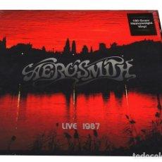 Discos de vinilo: V677 - AEROSMITH. LIVE AT THE CIVIC CENTER. DOBLE LP VINILO NUEVO PRECINTADO. Lote 198748930