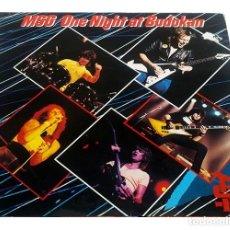 Discos de vinilo: V679 - THE MICHAEL SCHENKER GROUP. ONE NIGHT AT BUDOKAN, DOBLE LP VINILO. Lote 198751011