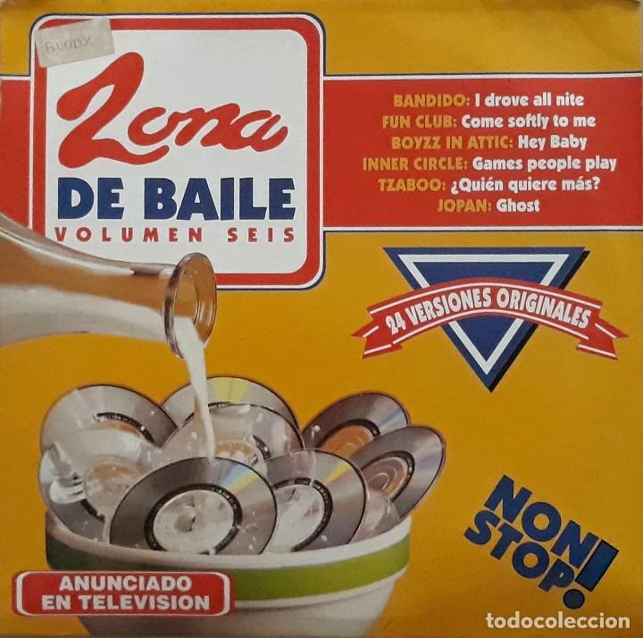ZONA DE BAILE VOLUMEN 6 (Música - Discos - LP Vinilo - Techno, Trance y House)
