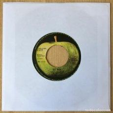 Discos de vinilo: THE BEATLES WITH BILLY PRESTON – GET BACK, UK 1969 APPLE RECORDS. Lote 198751242
