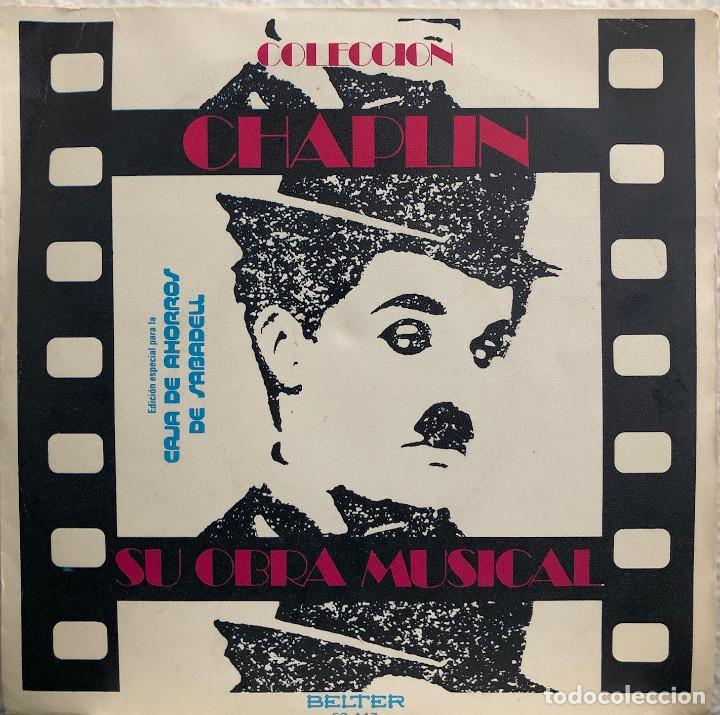 CHAPLIN , SIDNEY DALE ORCHESTRA - EP 45 RPM (Música - Discos de Vinilo - EPs - Bandas Sonoras y Actores)