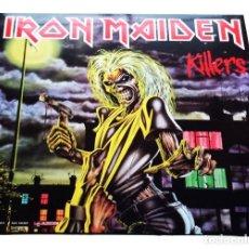 Discos de vinilo: V683 - IRON MAIDEN. KILLERS. LP VINILO NUEVO PRECINTADO. Lote 198757421
