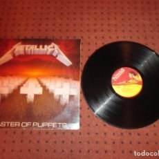 Discos de vinilo: METALLICA - MASTER OF PUPPETS - EUROPA - ROADRUNNER RECORDS / MUSIC FOR - REF NATIONS RR9717 - L - . Lote 198768372