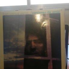 Discos de vinilo: JUAN MANUEL SERRATCANCIONES DE AMOR 1976 LP. Lote 198769815