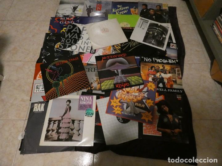 Discos de vinilo: Lote 69 lps y maxis musica negra 70-80 funk rap dance disco funky reggae soul dance R&B con lista - Foto 3 - 198769871