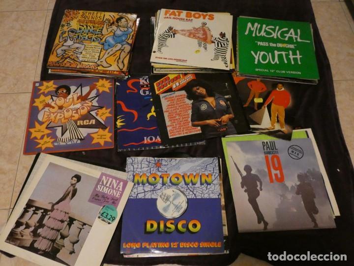 LOTE 69 LPS Y MAXIS MUSICA NEGRA 70-80 FUNK RAP DANCE DISCO FUNKY REGGAE SOUL DANCE R&B CON LISTA (Música - Discos de Vinilo - Maxi Singles - Jazz, Jazz-Rock, Blues y R&B)