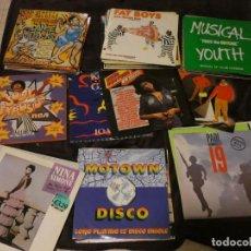 Discos de vinilo: LOTE 69 LPS Y MAXIS MUSICA NEGRA 70-80 FUNK RAP DANCE DISCO FUNKY REGGAE SOUL DANCE R&B CON LISTA. Lote 198769871
