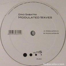 Discos de vinilo: DINO SABATINI – MODULATED WAVES. Lote 198769952