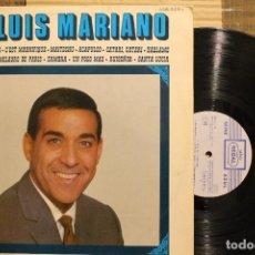 Discos de vinilo: LUIS MARIANO / PARIS TE AMO / 1969 REGAL SERIE AZUL SANTA LUCIA MAITECHU RUISEÑOR. Lote 198781847