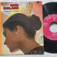Discos de vinilo: GIGI DELMO ACORDEON Y RITMO EP VINYL MADE IN SPAIN 1959. Lote 198795130