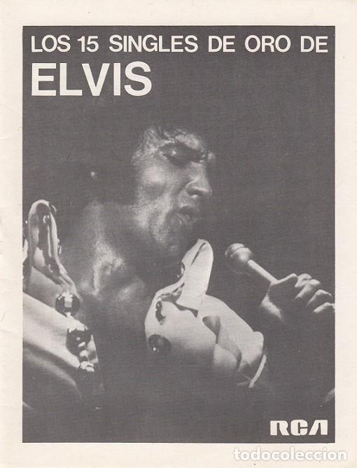 Discos de vinilo: ELVIS PRESLEY - 15 SINGLES DE ORO - CAJA CON 15 SINGLES ESPAÑOLES EDICION LIMITADA - Foto 3 - 198797465