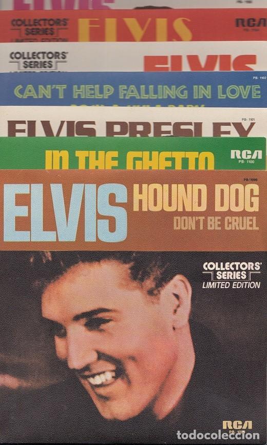 Discos de vinilo: ELVIS PRESLEY - 15 SINGLES DE ORO - CAJA CON 15 SINGLES ESPAÑOLES EDICION LIMITADA - Foto 5 - 198797465
