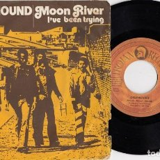 Discos de vinilo: GREYHOUND - MOON RIVER - SINGLE DE VINILO EDICION ESPAÑOLA TROJAN REGGAE. Lote 198799615